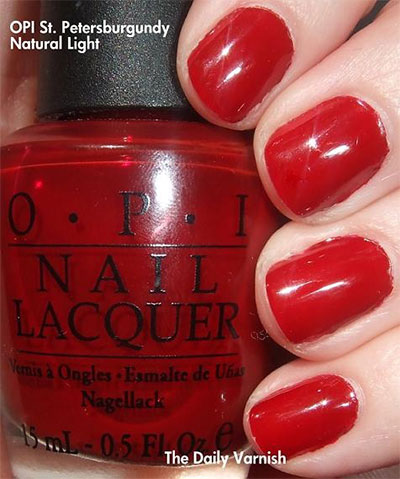 Simple-Red-Nail-Art-Designs-Ideas-For-Girls-2013-2014-10