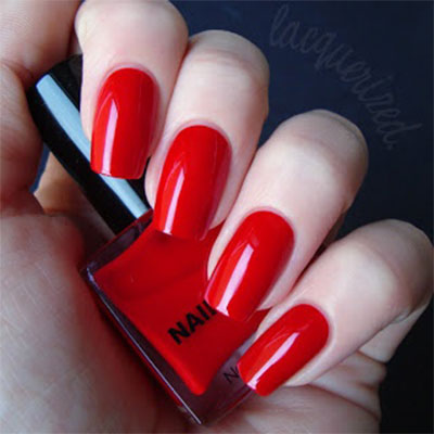 simple red nail art designs amp ideas for girls 2013 2014
