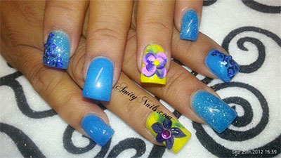 Amazing-Blue-Nail-Art-Designs-Ideas-2013-2014-2
