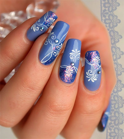 Amazing-Blue-Nail-Art-Designs-Ideas-2013-2014-8
