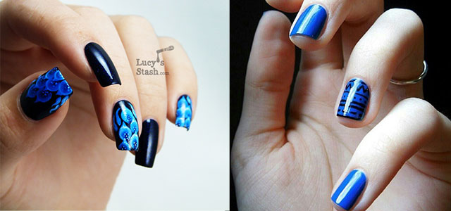 Amazing-Blue-Nail-Art-Designs-Ideas-2013-2014