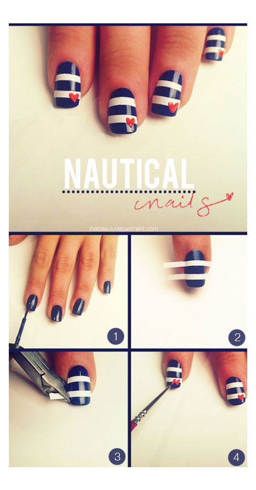 Best-Easy-Nail-Art-Tutorials-2013-2014-For-Beginners-Learners-10
