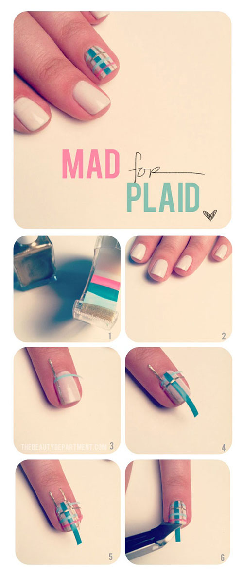Best-Easy-Nail-Art-Tutorials-2013-2014-For-Beginners-Learners-2