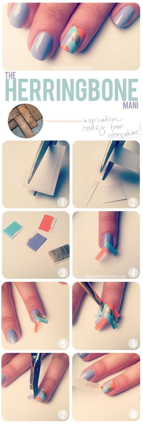 Best-Easy-Nail-Art-Tutorials-2013-2014-For-Beginners-Learners-3