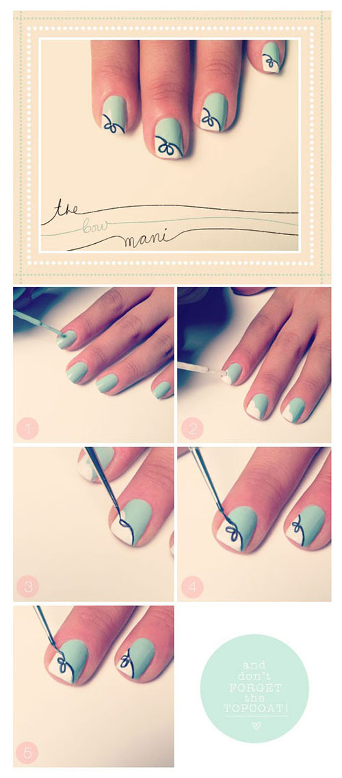 Best-Easy-Nail-Art-Tutorials-2013-2014-For-Beginners-Learners-5