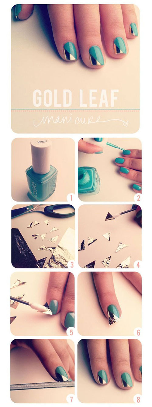 Best-Easy-Nail-Art-Tutorials-2013-2014-For-Beginners-Learners-6