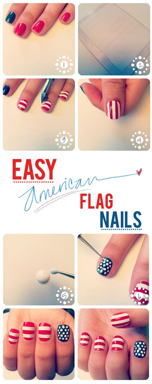 Best-Easy-Nail-Art-Tutorials-2013-2014-For-Beginners-Learners-8