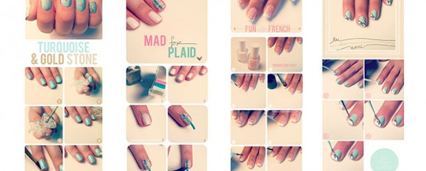 Best-Easy-Nail-Art-Tutorials-2013-2014-For-Beginners-Learners