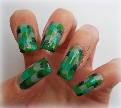 Best-Green-Nail-Art-Designs-Ideas-2013-2014-2