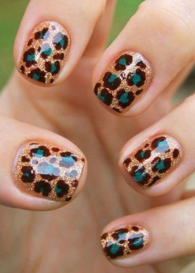 Best-Green-Nail-Art-Designs-Ideas-2013-2014-6