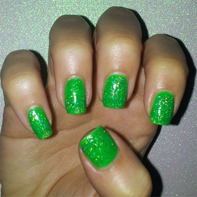 Best-Green-Nail-Art-Designs-Ideas-2013-2014-8