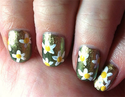 Best-Green-Nail-Art-Designs-Ideas-2013-2014-9