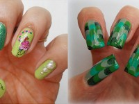 Best-Green-Nail-Art-Designs-Ideas-2013-2014