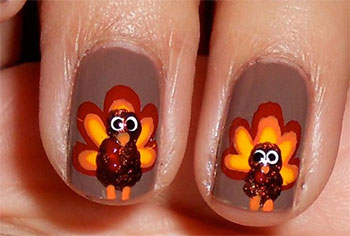 Cute-Easy-Thanksgiving-Nail-Art-Designs-Ideas-2013-2014-11