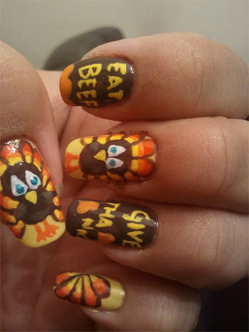 Cute-Easy-Thanksgiving-Nail-Art-Designs-Ideas-2013-2014-3