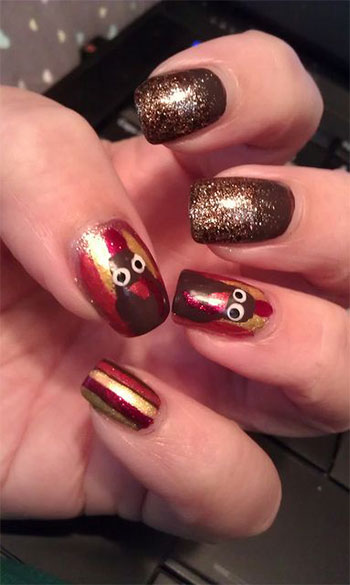 Cute-Easy-Thanksgiving-Nail-Art-Designs-Ideas-2013-2014-4