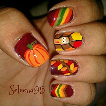 Cute-Easy-Thanksgiving-Nail-Art-Designs-Ideas-2013-2014-5