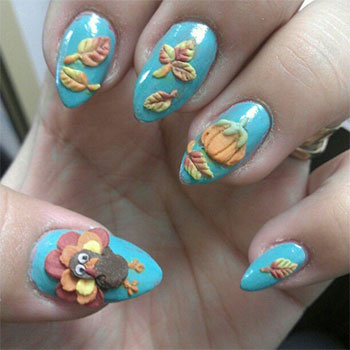 Cute-Easy-Thanksgiving-Nail-Art-Designs-Ideas-2013-2014-6