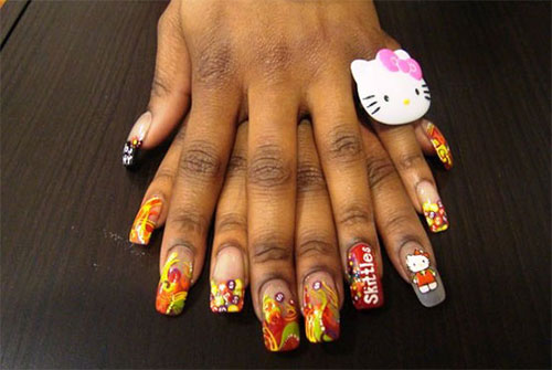 Cute-Hello-Kitty-Nail-Art-Deisgns-Supplies-Stickers-2013-2014-1