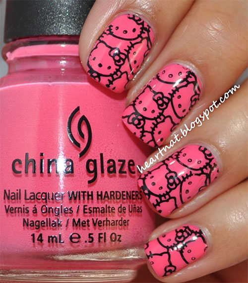 Cute-Hello-Kitty-Nail-Art-Deisgns-Supplies-Stickers-2013-2014-3
