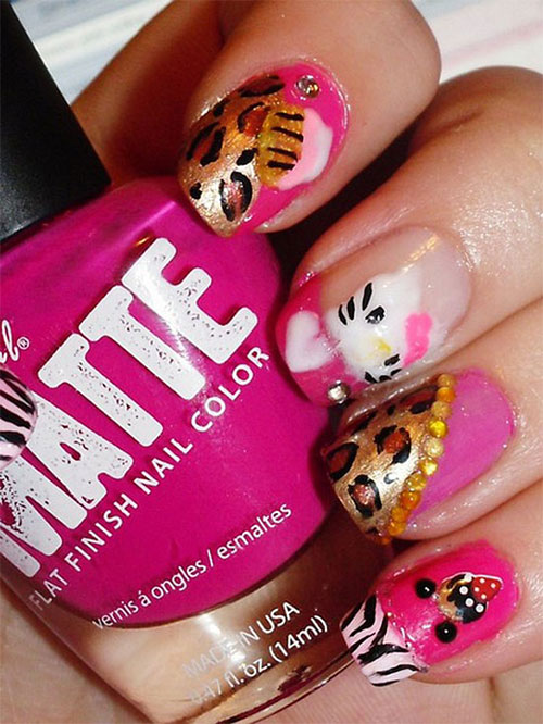 Cute-Hello-Kitty-Nail-Art-Deisgns-Supplies-Stickers-2013-2014-4