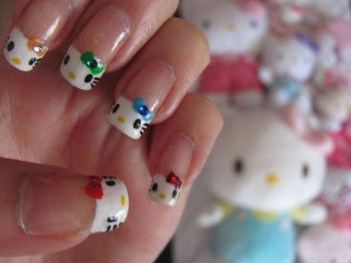 Cute-Hello-Kitty-Nail-Art-Deisgns-Supplies-Stickers-2013-2014-9