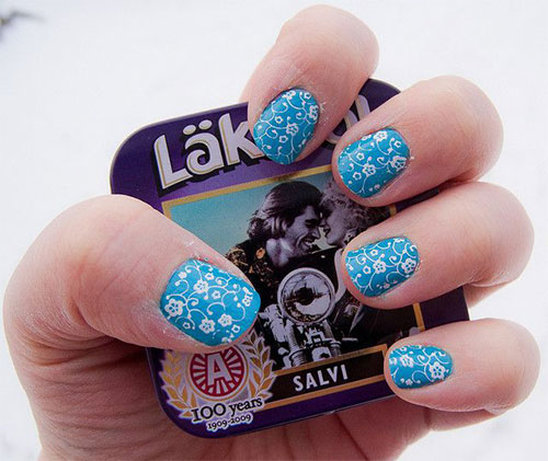 Cute-Yet-Simple-Blue-Nail-Art-Designs-Ideas-2013-2014-3