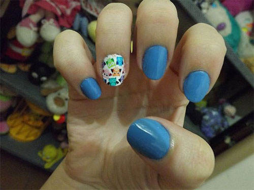Cute-Yet-Simple-Blue-Nail-Art-Designs-Ideas-2013-2014-4