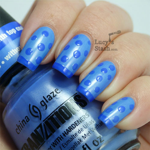 Cute-Yet-Simple-Blue-Nail-Art-Designs-Ideas-2013-2014-7