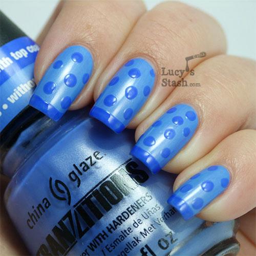 Cute-Yet-Simple-Blue-Nail-Art-Designs-Ideas-2013-2014-7