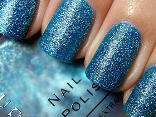 Cute-Yet-Simple-Blue-Nail-Art-Designs-Ideas-2013-2014-8