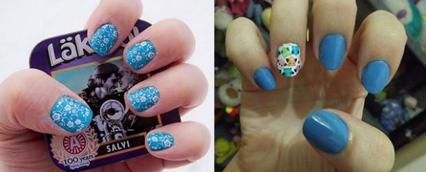 Cute-Yet-Simple-Blue-Nail-Art-Designs-Ideas-2013-2014