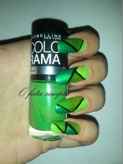 Green-Nail-Art-Designs-Ideas-2013-2014-6
