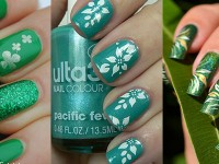 Green-Nail-Art-Designs-Ideas-2013-2014