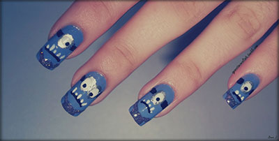 Minions-Nails-2013-2014-Despicable-Me-2-Nail-Art-Designs-10