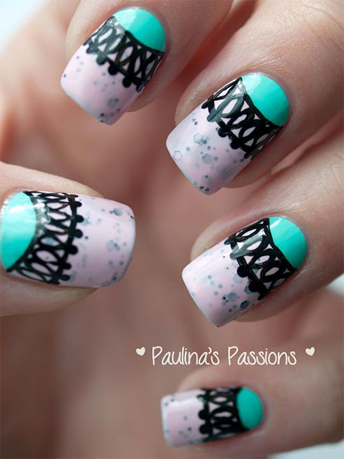 Nail-Art-Designs-For-Beginners-Learners-2013-2014-15