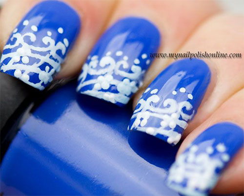 Nail-Art-Designs-For-Beginners-Learners-2013-2014-19