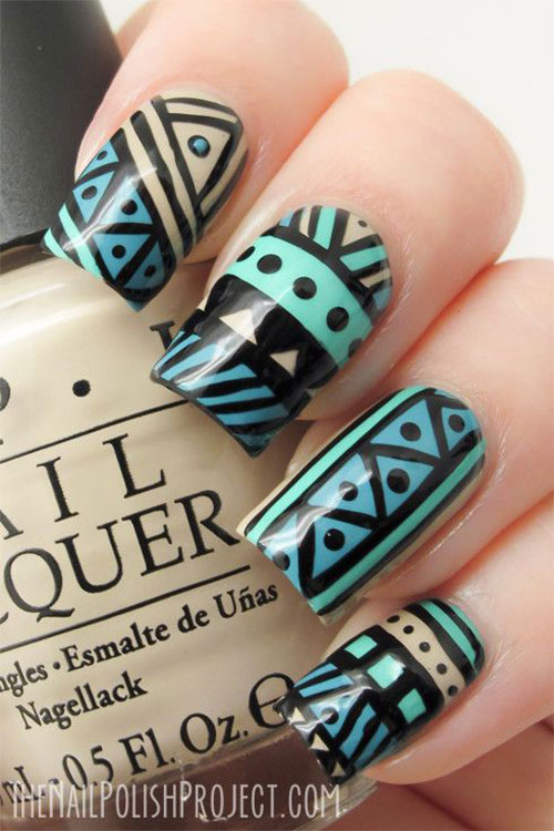 Nail-Art-Designs-For-Beginners-Learners-2013-2014-2