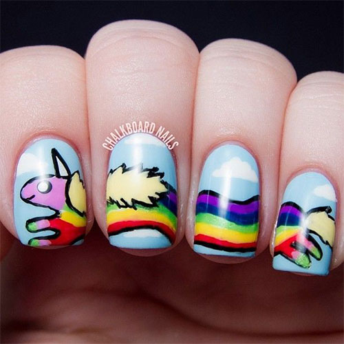 Nail-Art-Designs-For-Beginners-Learners-2013-2014-20