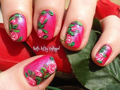 Nail-Art-Designs-For-Beginners-Learners-2013-2014-21