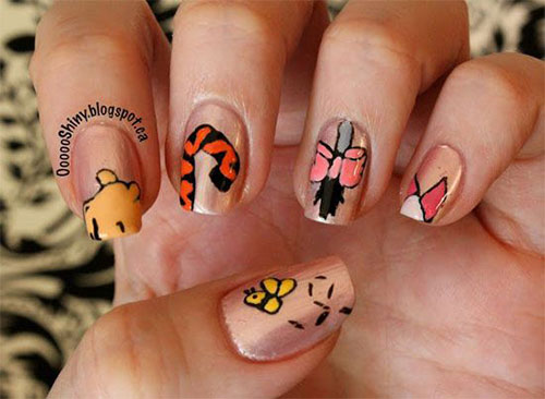 Nail-Art-Designs-For-Beginners-Learners-2013-2014-22
