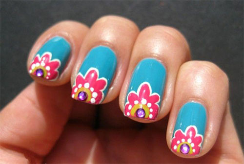 Nail-Art-Designs-For-Beginners-Learners-2013-2014-24