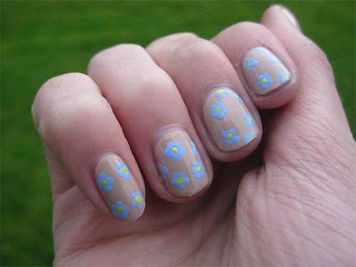 Nail-Art-Designs-For-Beginners-Learners-2013-2014-26