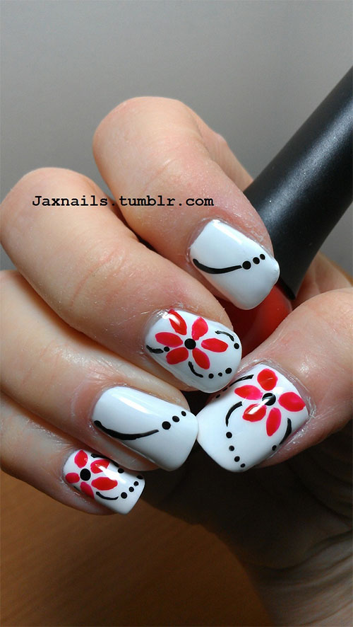 Nail-Art-Designs-For-Beginners-Learners-2013-2014-32