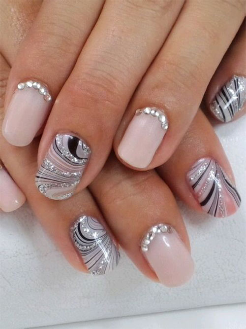 Nail-Art-Designs-For-Beginners-Learners-2013-2014-35