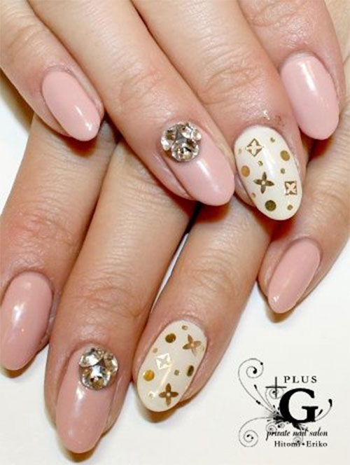 Nail-Art-Designs-For-Beginners-Learners-2013-2014-37