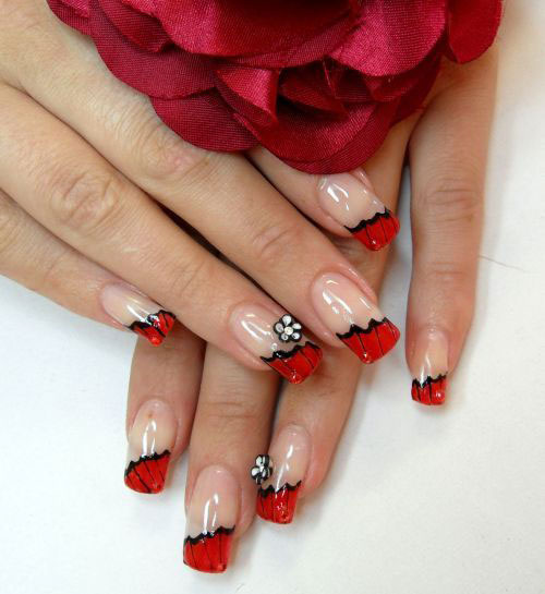 Nail-Art-Designs-For-Beginners-Learners-2013-2014-39