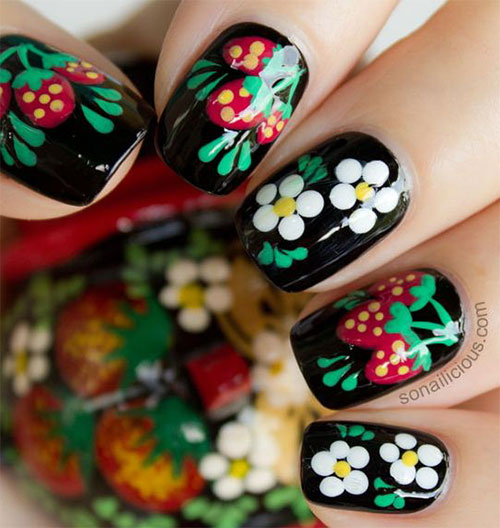 Nail-Art-Designs-For-Beginners-Learners-2013-2014-4