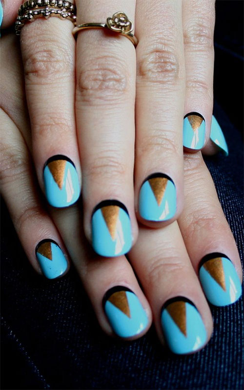 Nail-Art-Designs-For-Beginners-Learners-2013-2014-40