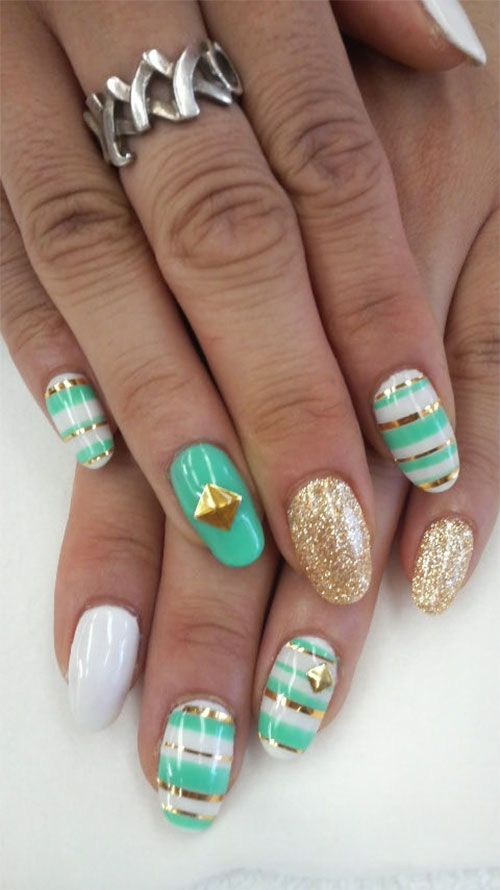 Nail-Art-Designs-For-Beginners-Learners-2013-2014-42
